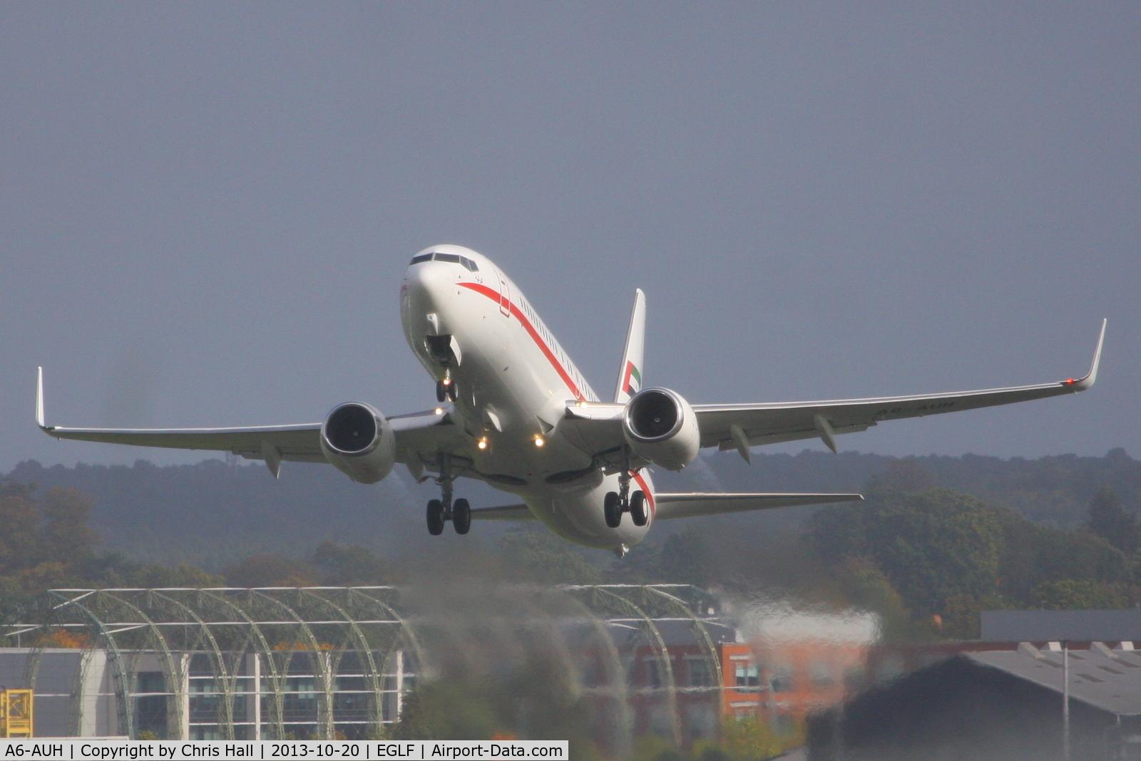A6-AUH, 2002 Boeing 737-8EX BBJ2 C/N 33473, Amiri Flight Line