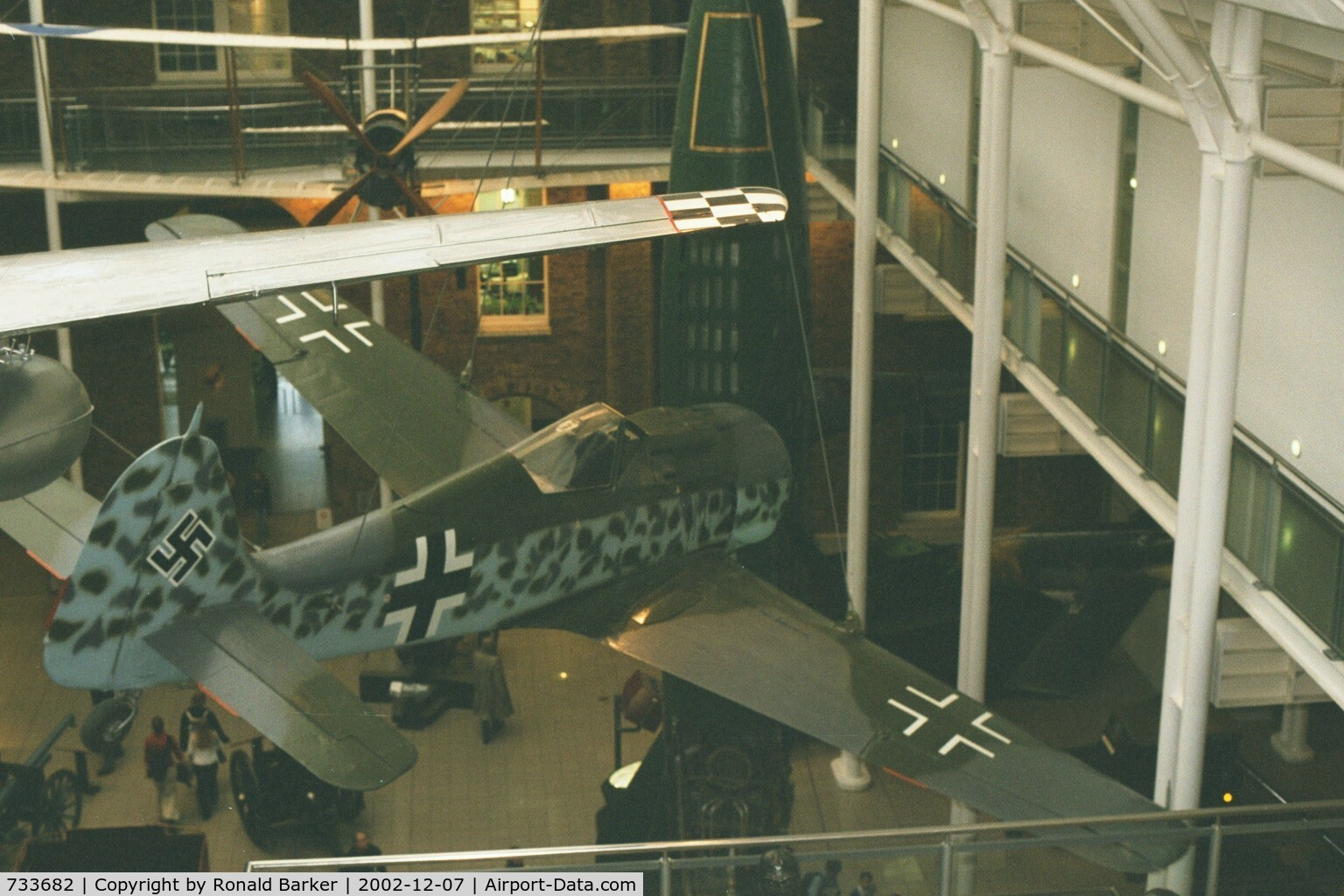733682, 1944 Focke-Wulf Fw-190A-8 C/N 733682, Imperial War Museum, London