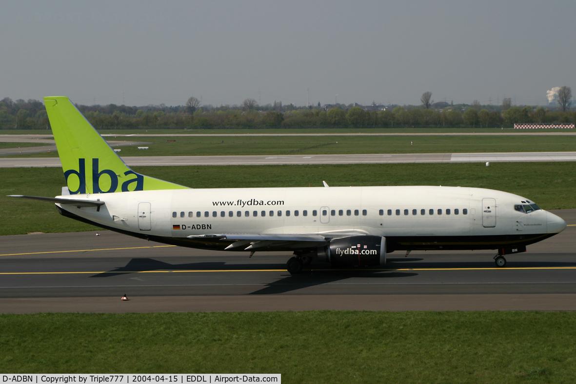 D-ADBN, 1997 Boeing 737-31S C/N 29058, flydba