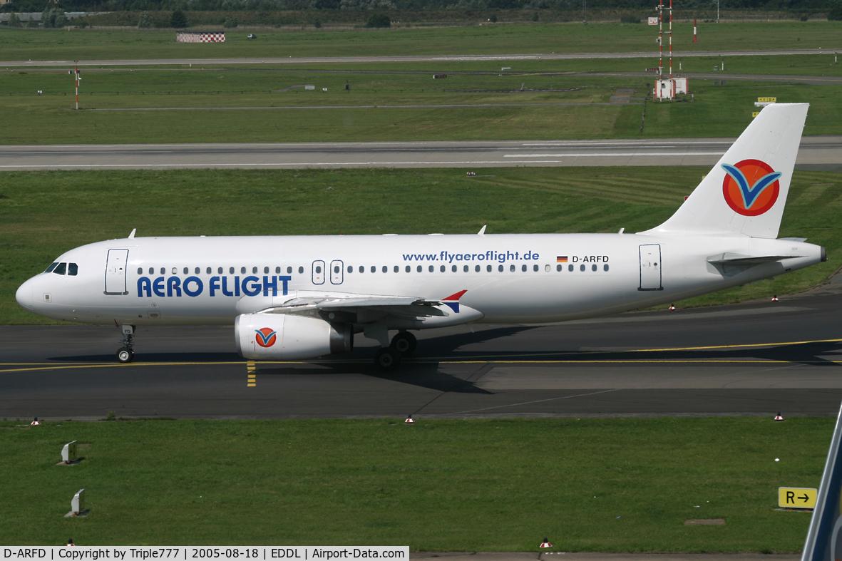 D-ARFD, 2004 Airbus A320-214 C/N 2108, Aero Flight