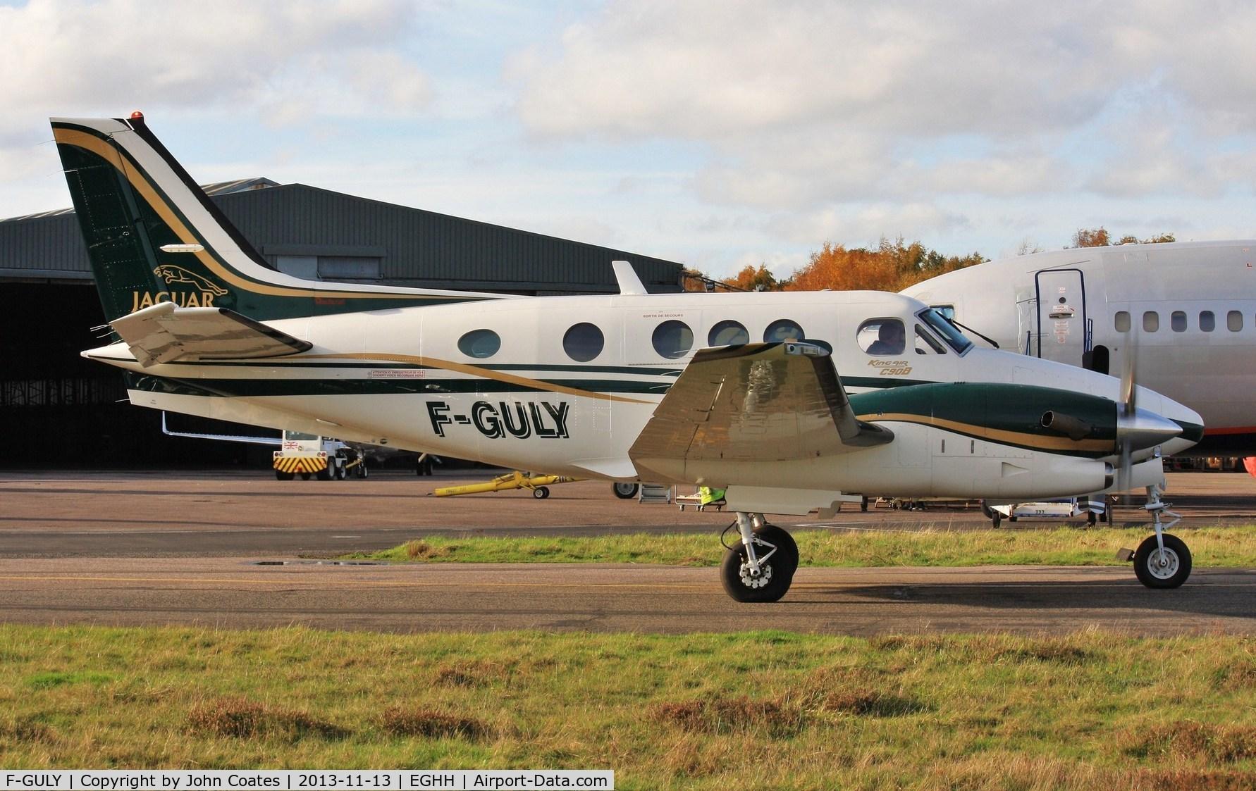 Aircraft F-GULY (2000 Raytheon C90A King Air C/N LJ-1610 ...
