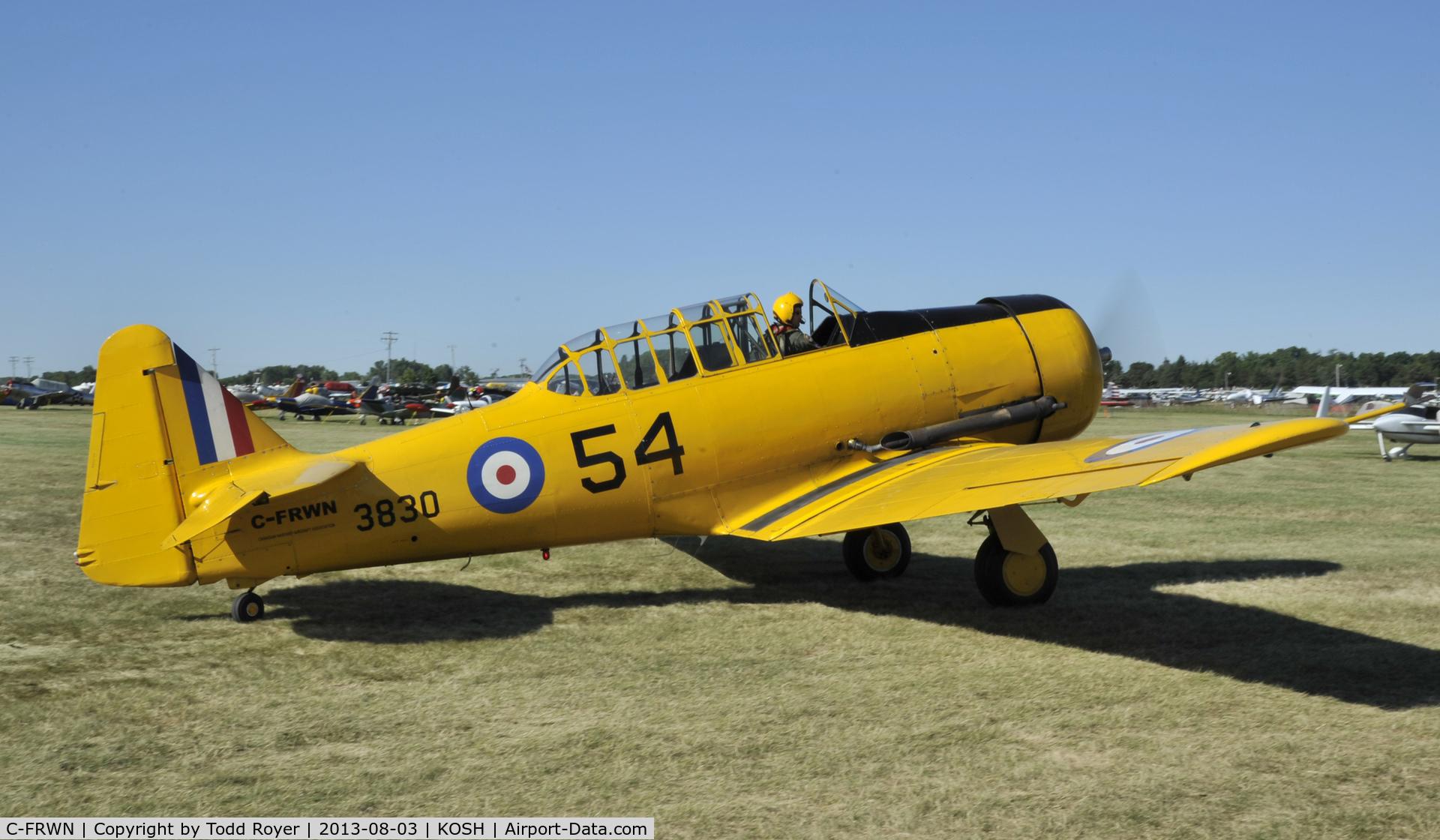 C-FRWN, 1942 Noorduyn AT-16 Harvard II C/N 81-4097, Airventure 2013