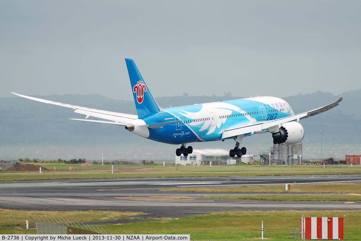 B-2736, 2013 Boeing 787-8 Dreamliner C/N 34929, Love that wing flex!