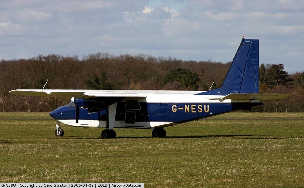 G-NESU, 1991 Pilatus Britten-Norman BN-2B-26 Islander C/N 2260, Ex: G-BTVN > G-NESU > G-SICB June 2006 Originally owned to, Pilatus Britten-Norman Ltd in September 1991 and currently with, B-N Group Ltd in August 2005