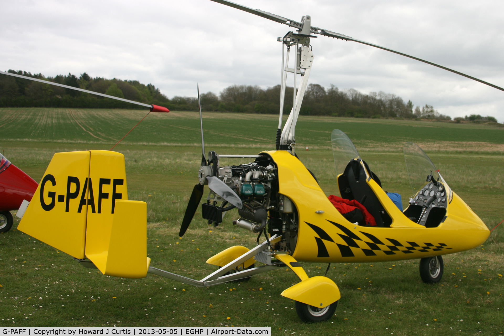 G-PAFF, 2011 Rotorsport UK MTOsport C/N RSUK/MTOS/039, Privately owned, at the Microlight Trade Fair.