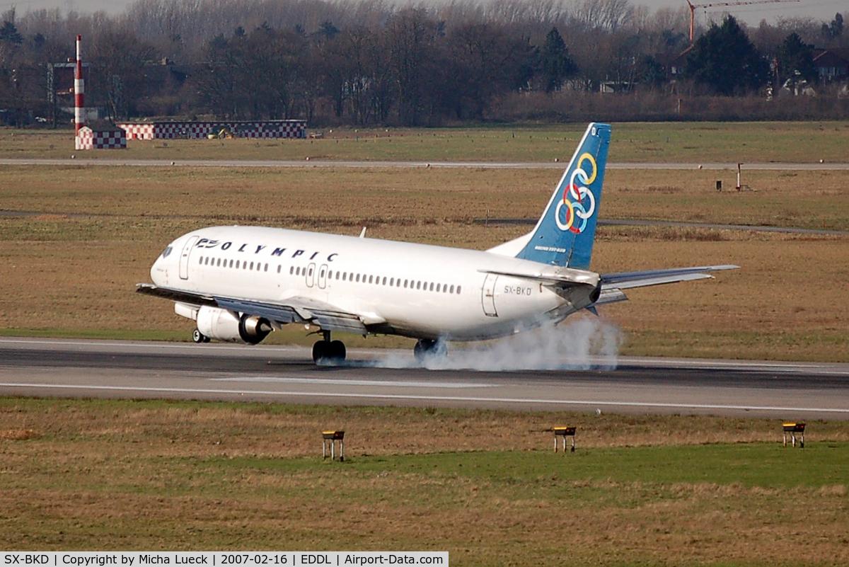 SX-BKD, 1991 Boeing 737-484 C/N 25362, At Düsseldorf