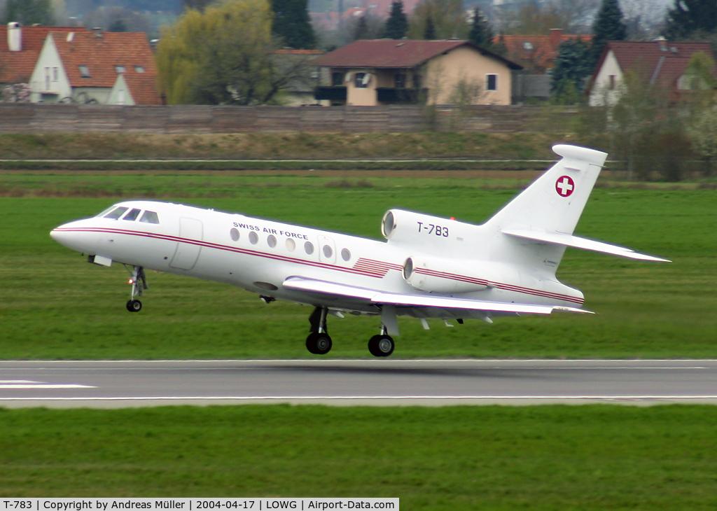 T-783, Dassault Falcon 50 C/N 67, Business flight.