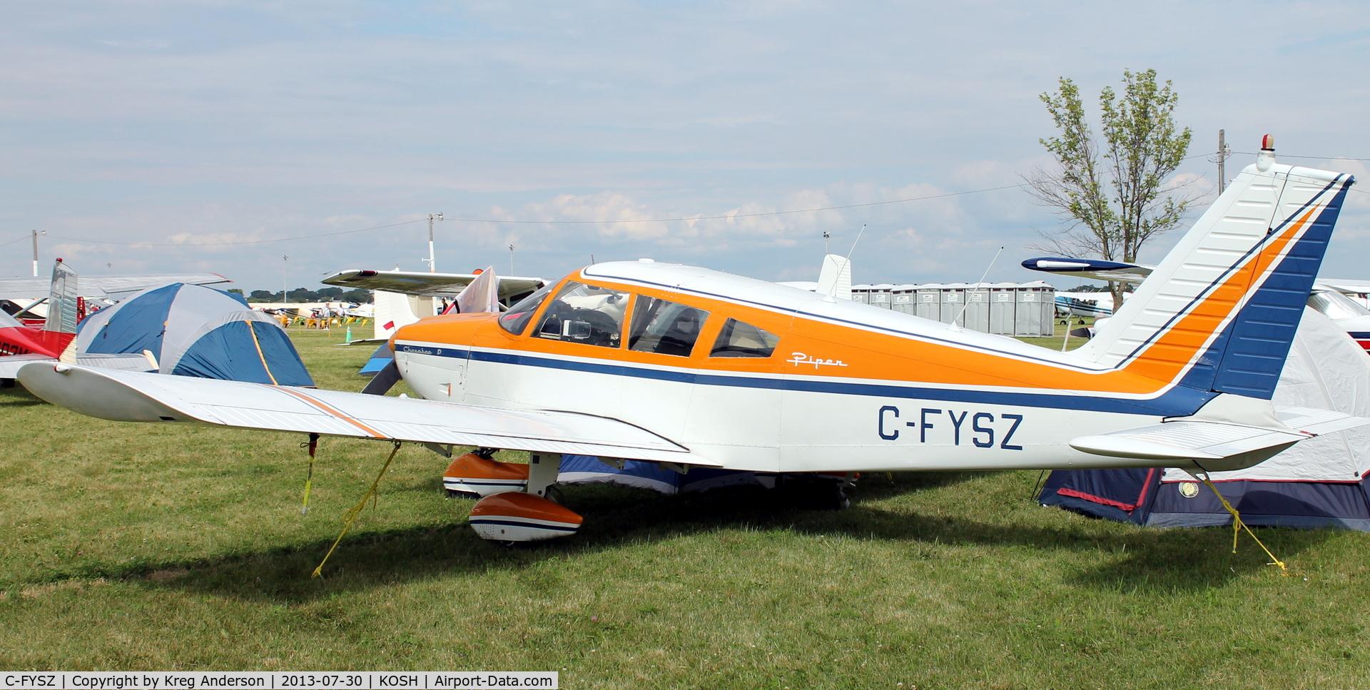 C-FYSZ, 1969 Piper PA-28-180 Cherokee C/N 28-5205, EAA AirVenture 2013