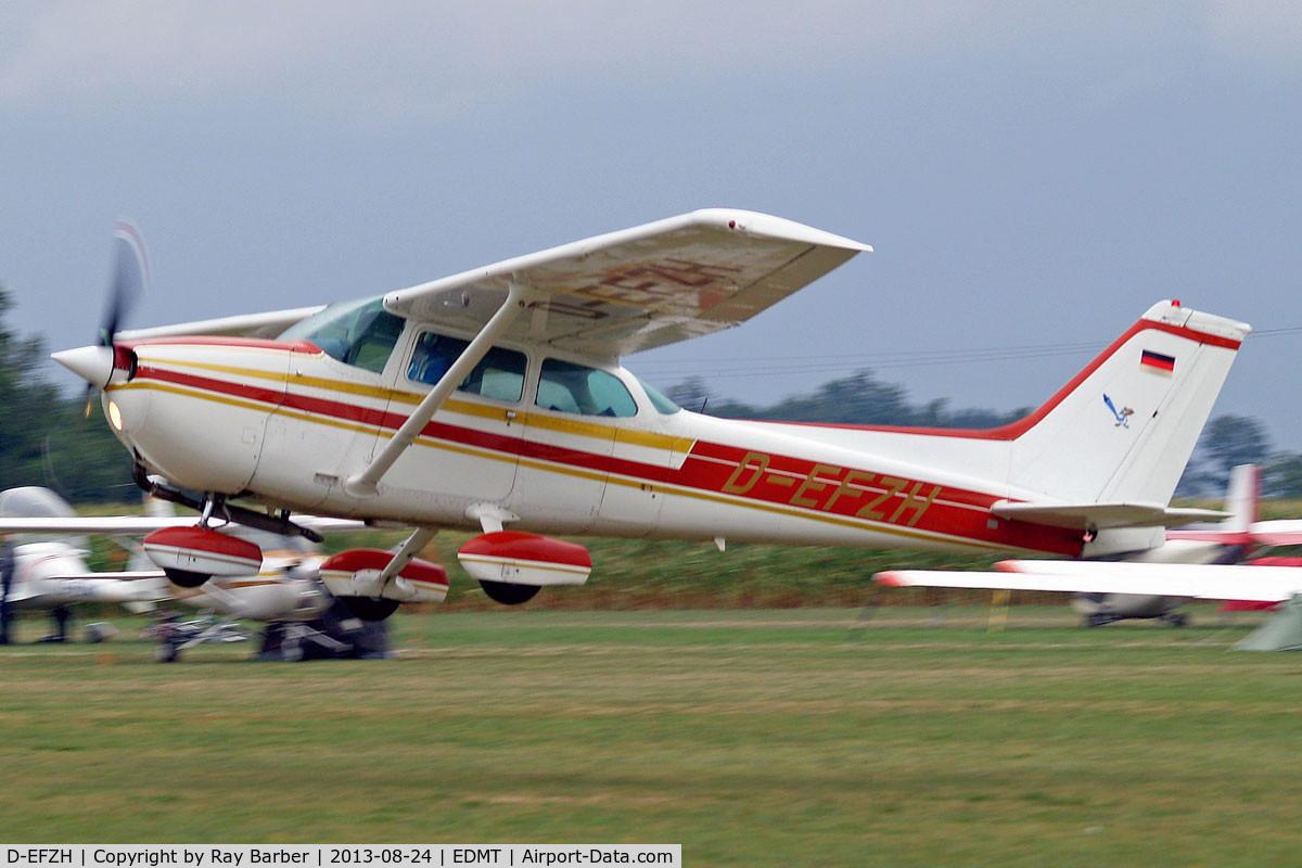 D-EFZH, Cessna 172N Skyhawk C/N 17268307, Cessna 172P Skyhawk [172-68307] Tannheim~D 24/08/2013