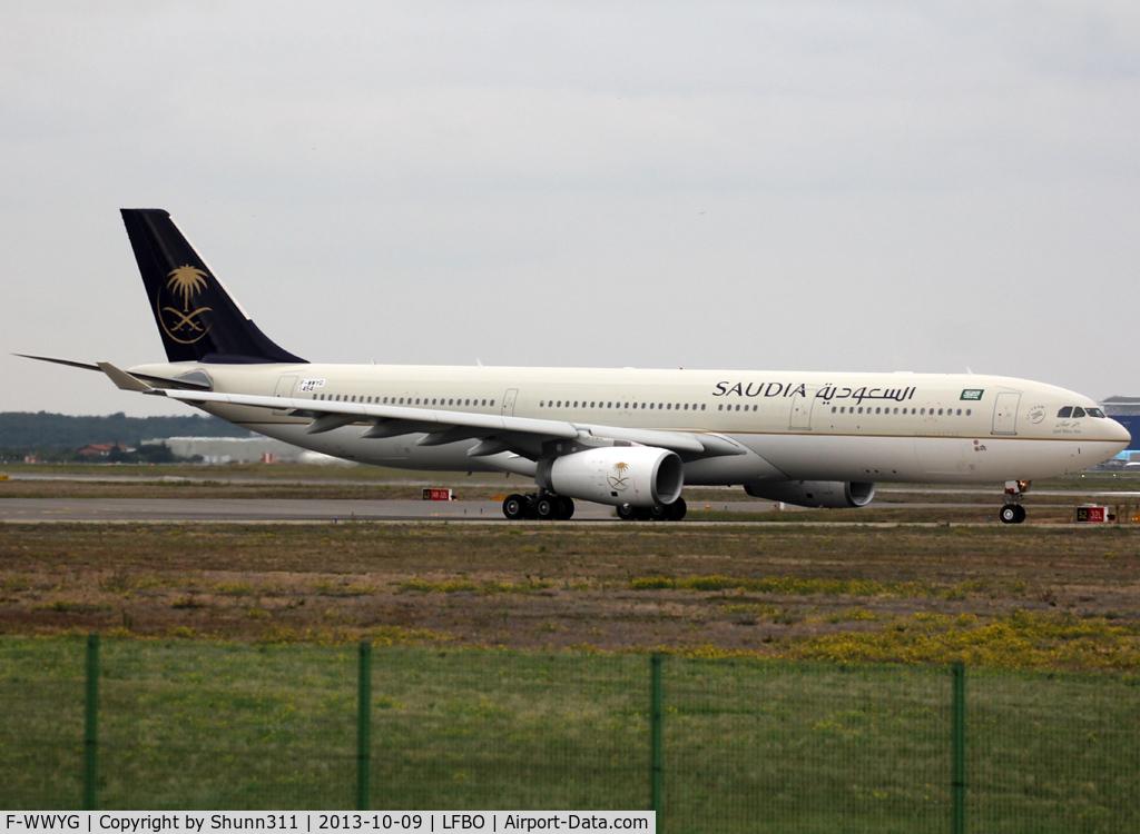 F-WWYG, 2013 Airbus A330-343X C/N 1454, C/n 1454 - To be HZ-AQI