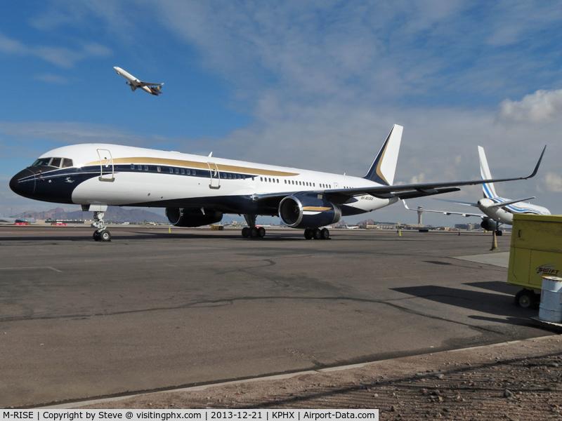 M-RISE, 1995 Boeing 757-23N C/N 27972, Talos Aviation