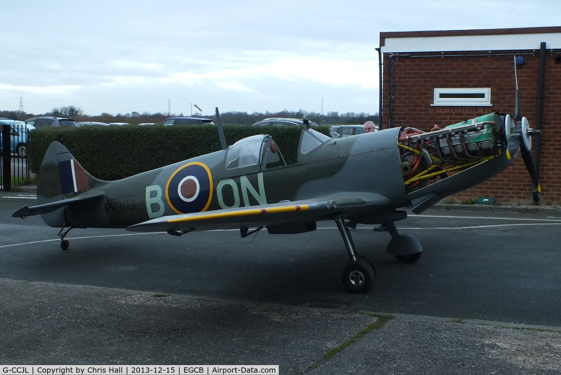 G-CCJL, 2007 Supermarine Aircraft Spitfire Mk.26 C/N PFA 324-14053, Supermarine Aircraft Spitfire Mk26 fitted with a Jabiru 5100 engine