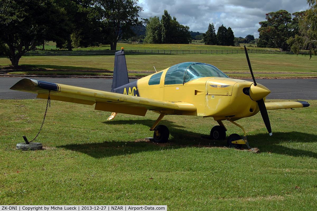 ZK-DNI, Grumman American AA-1B Trainer C/N AA5B-0136, At Ardmore (fake registration)