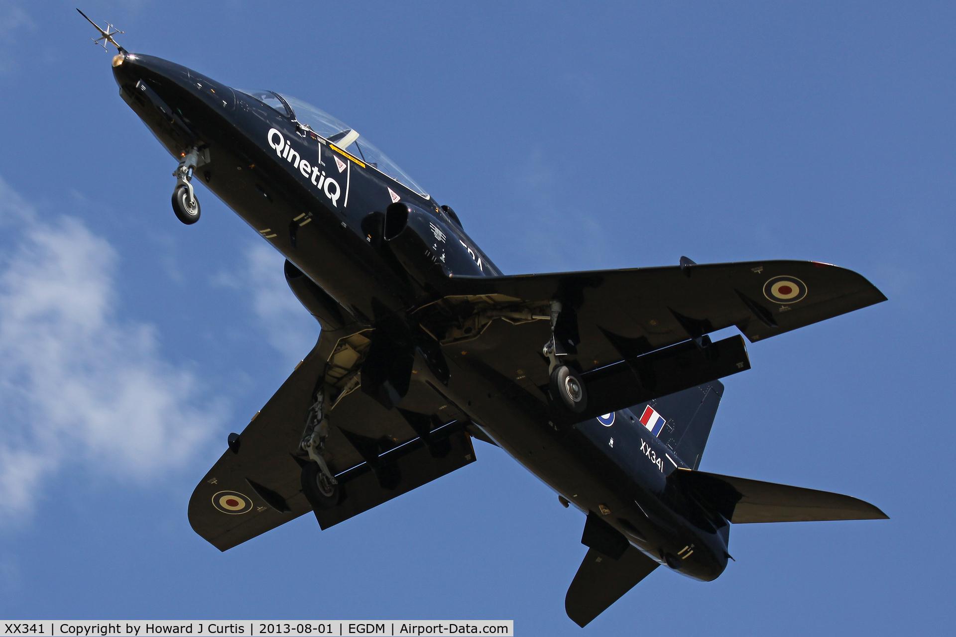 XX341, 1980 Hawker Siddeley Hawk T.1 C/N 190/312165, QinetiQ
