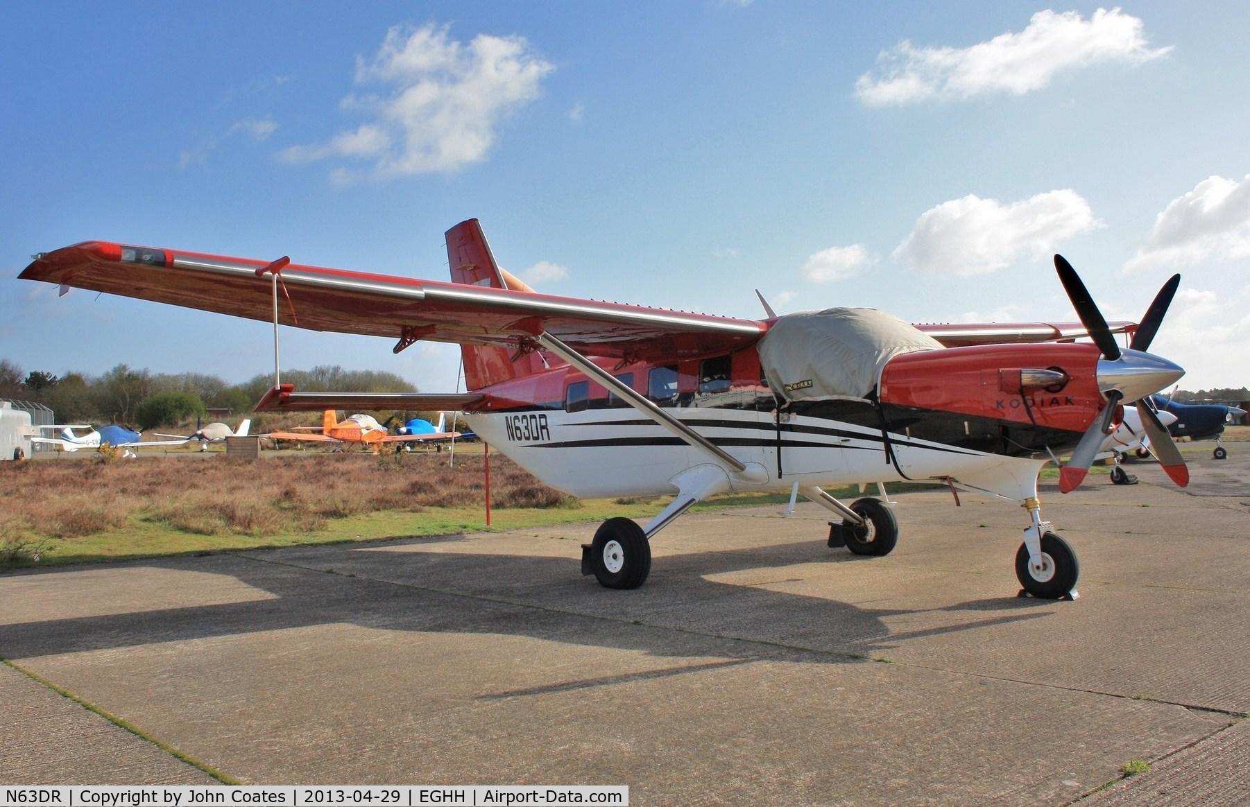 Aircraft N63DR (2010 Quest Kodiak 100 C/N 100-0045) Photo ...