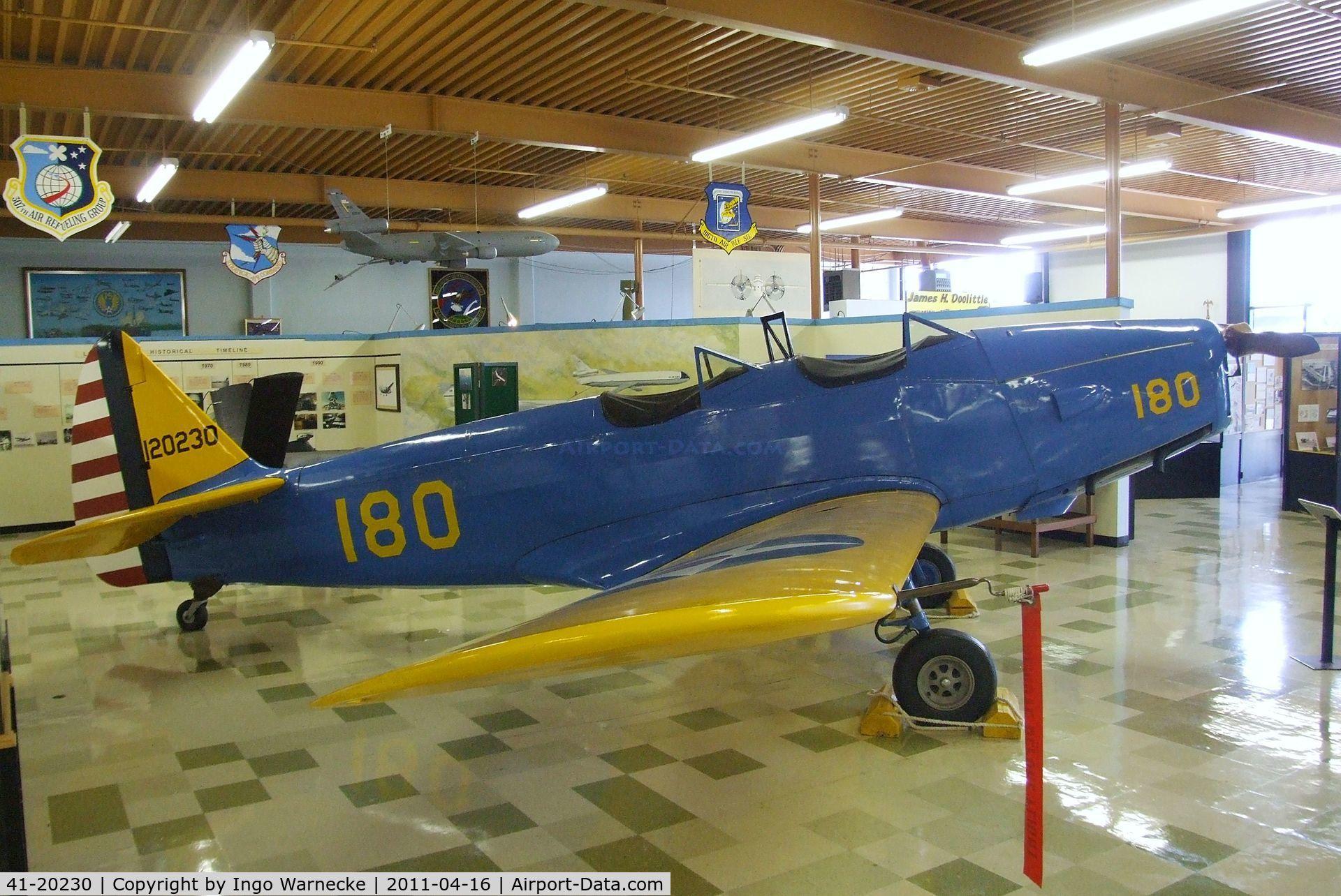41-20230, Fairchild PT-19A-FA C/N not found 41-20230, Fairchild PT-19A at the Travis Air Museum, Travis AFB Fairfield CA
