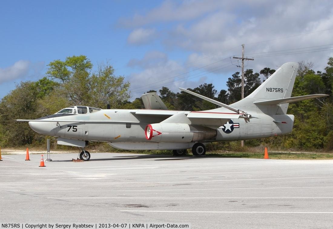 N875RS, 1960 Douglas EA-3B Skywarrior C/N 12111, Pensacola Naval museum