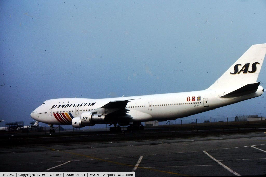 LN-AEO, 1971 Boeing 747-283B C/N 20121, LN-AEO in CPH