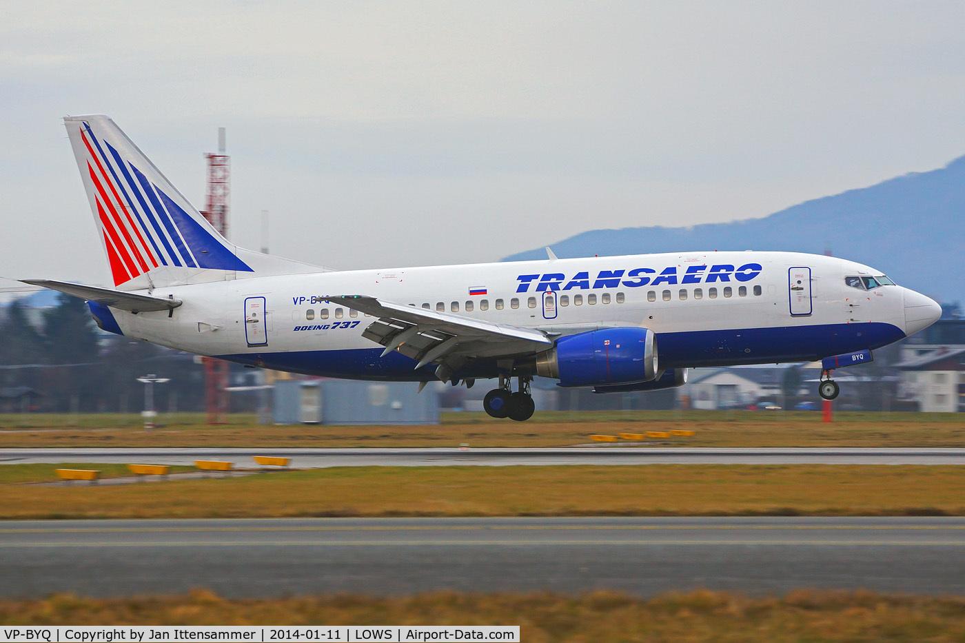 VP-BYQ, 1998 Boeing 737-524 C/N 28919, vp-byq