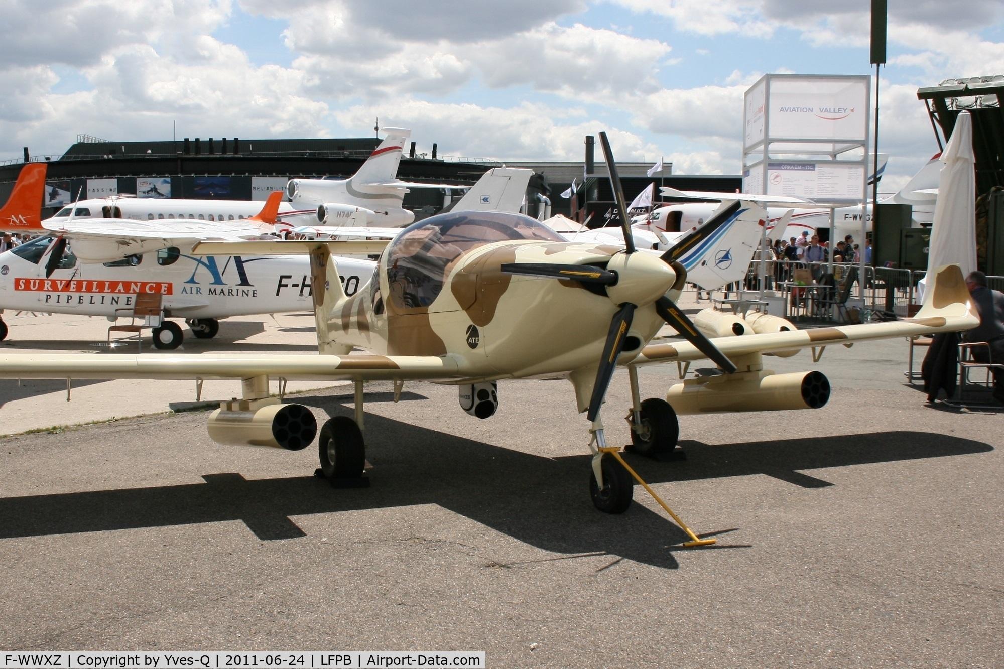 F-WWXZ, Dyn'Aero Pulsatrix C/N 001, Dyn'Aero Pulsatrix MCR R-180, Static Display, Paris Le Bourget (LFPB-LBG) Air Show 2011