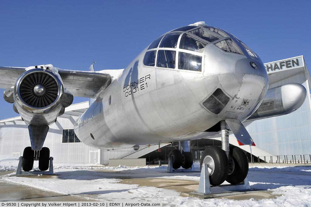 D-9530, 1967 Dornier Do-31 C/N E1, Dornier Museum