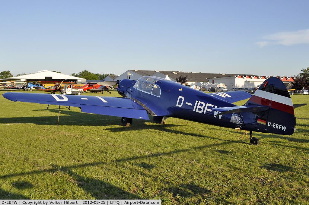 D-EBFW, 1937 Messerschmitt Bf-108 Taifun C/N 1561, at lffq