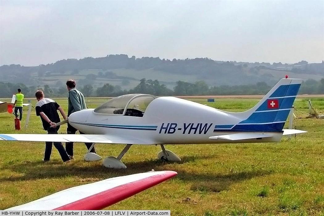 HB-YHW, 1998 Aero Designs Pulsar C/N 287, Aero Designs Pulsar XP [287] Vichy~F 08/07/2006