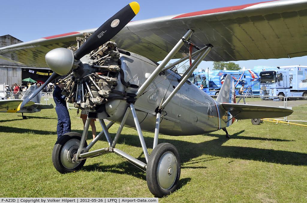 F-AZJD, Dewoitine D.27-SA C/N SA-290, at lffq