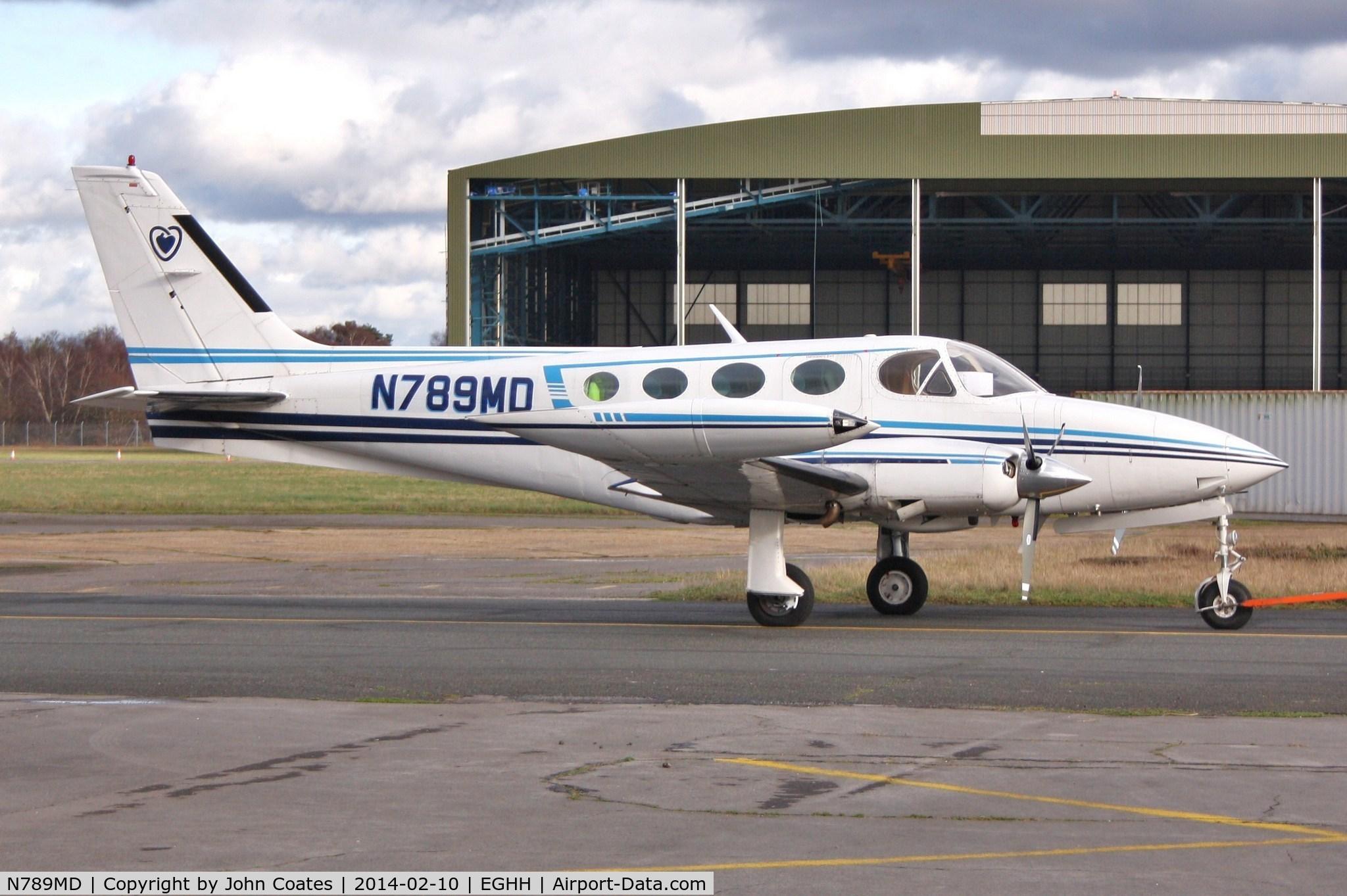 Aircraft N789MD (Cessna 340A C/N 340A1021) Photo by John ...