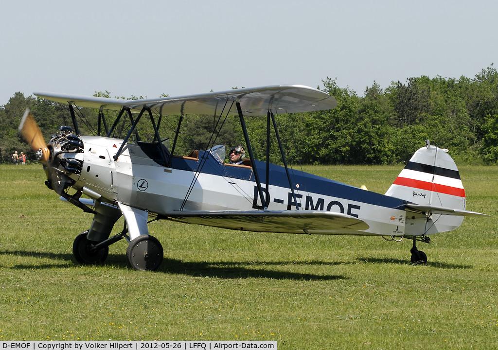 D-EMOF, Focke-Wulf Fw-44J Stieglitz C/N 82, at lffq