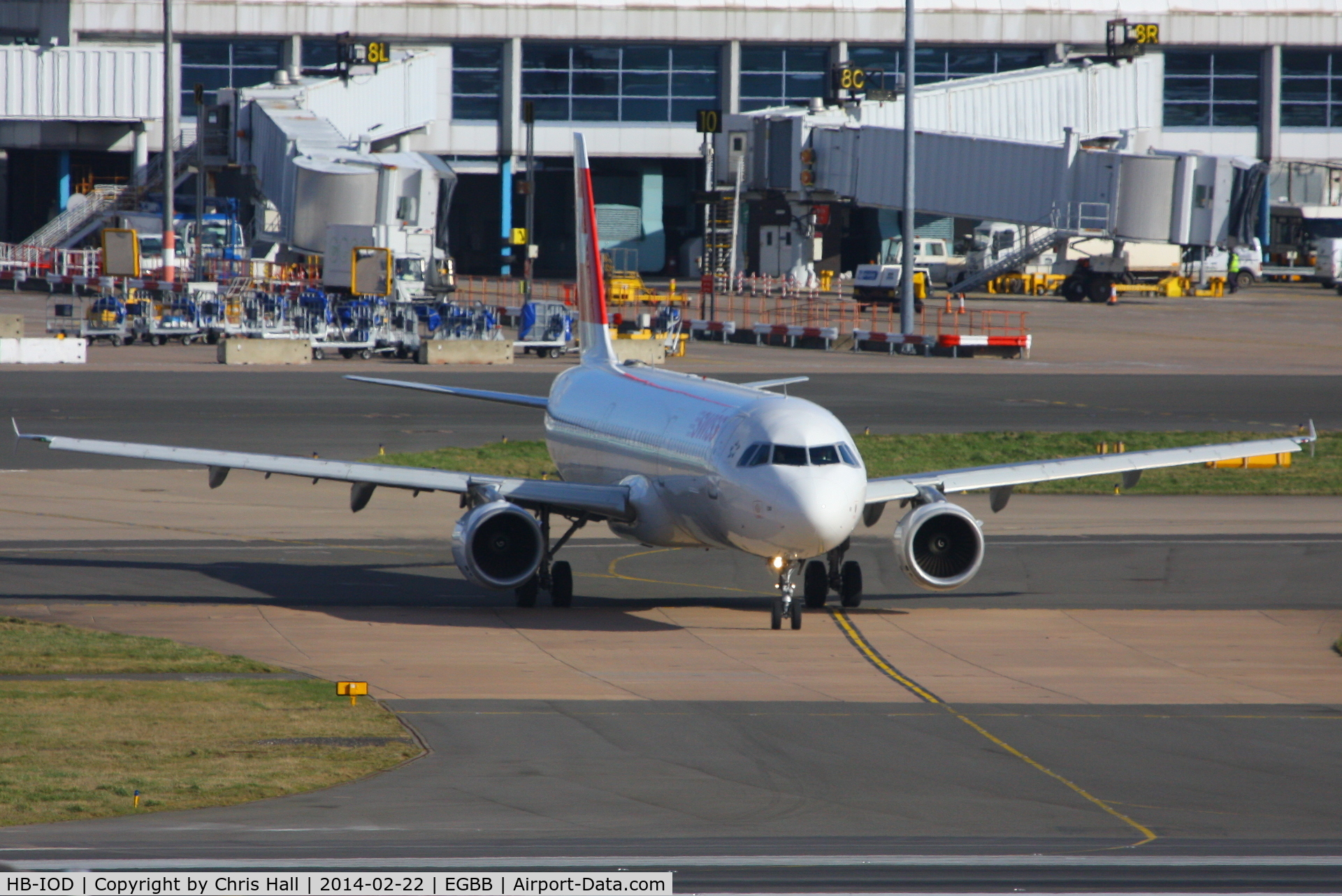 HB-IOD, 1995 Airbus A321-111 C/N 522, Swiss International Air Lines