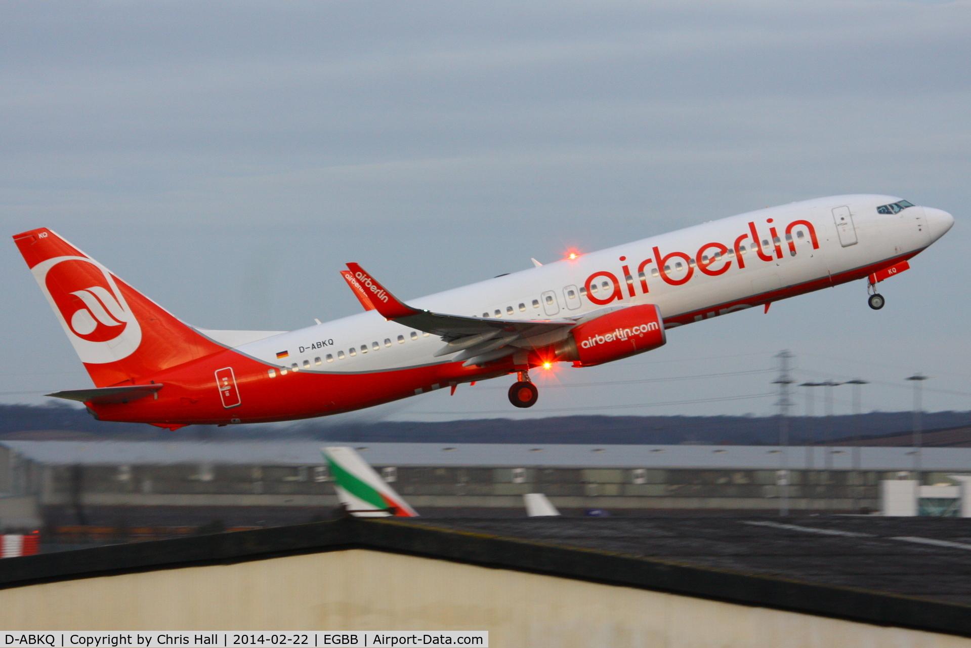 D-ABKQ, 2011 Boeing 737-86J C/N 37760, Air Berlin