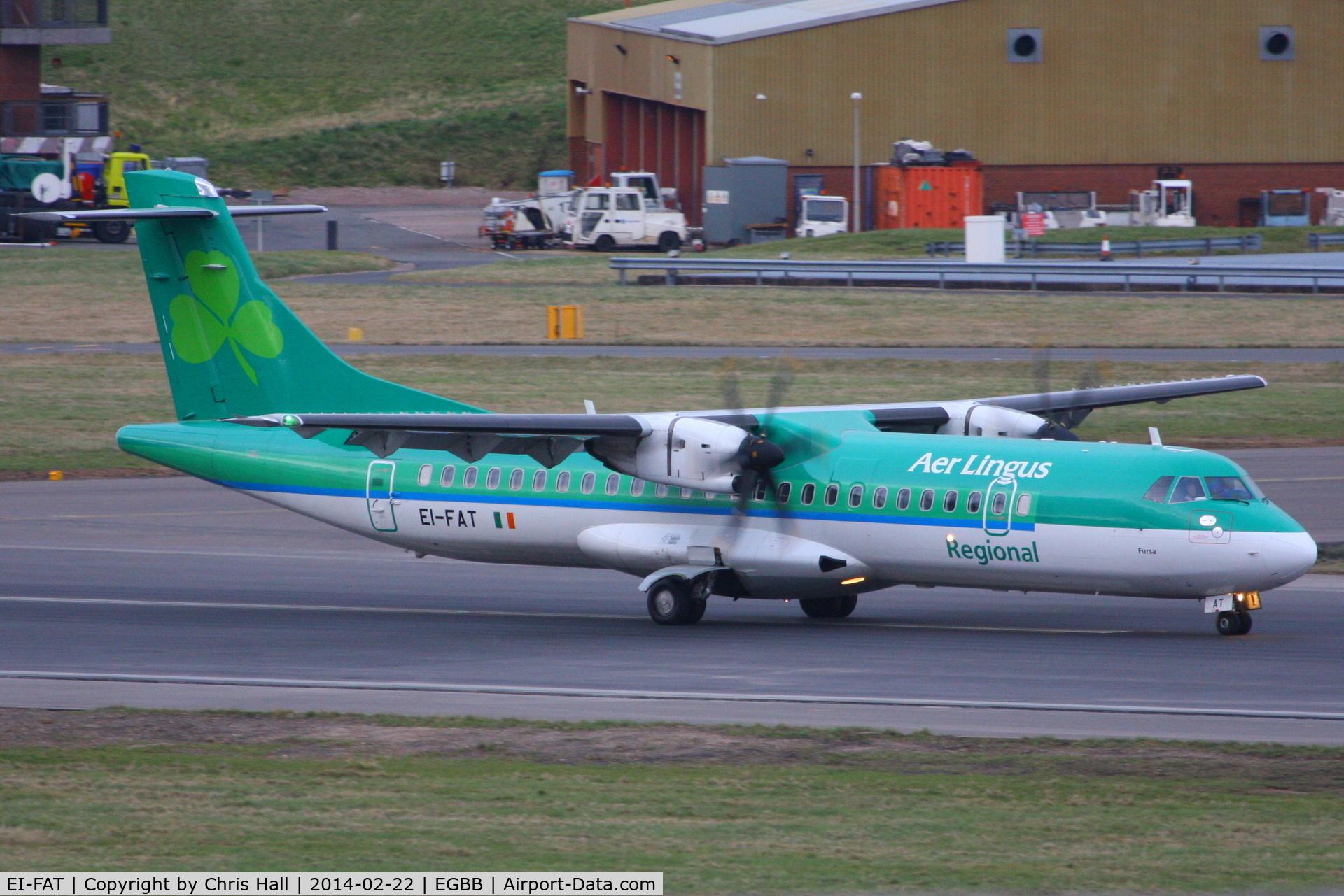 EI-FAT, 2013 ATR 72-600 C/N 1097, Aer Lingus Regional