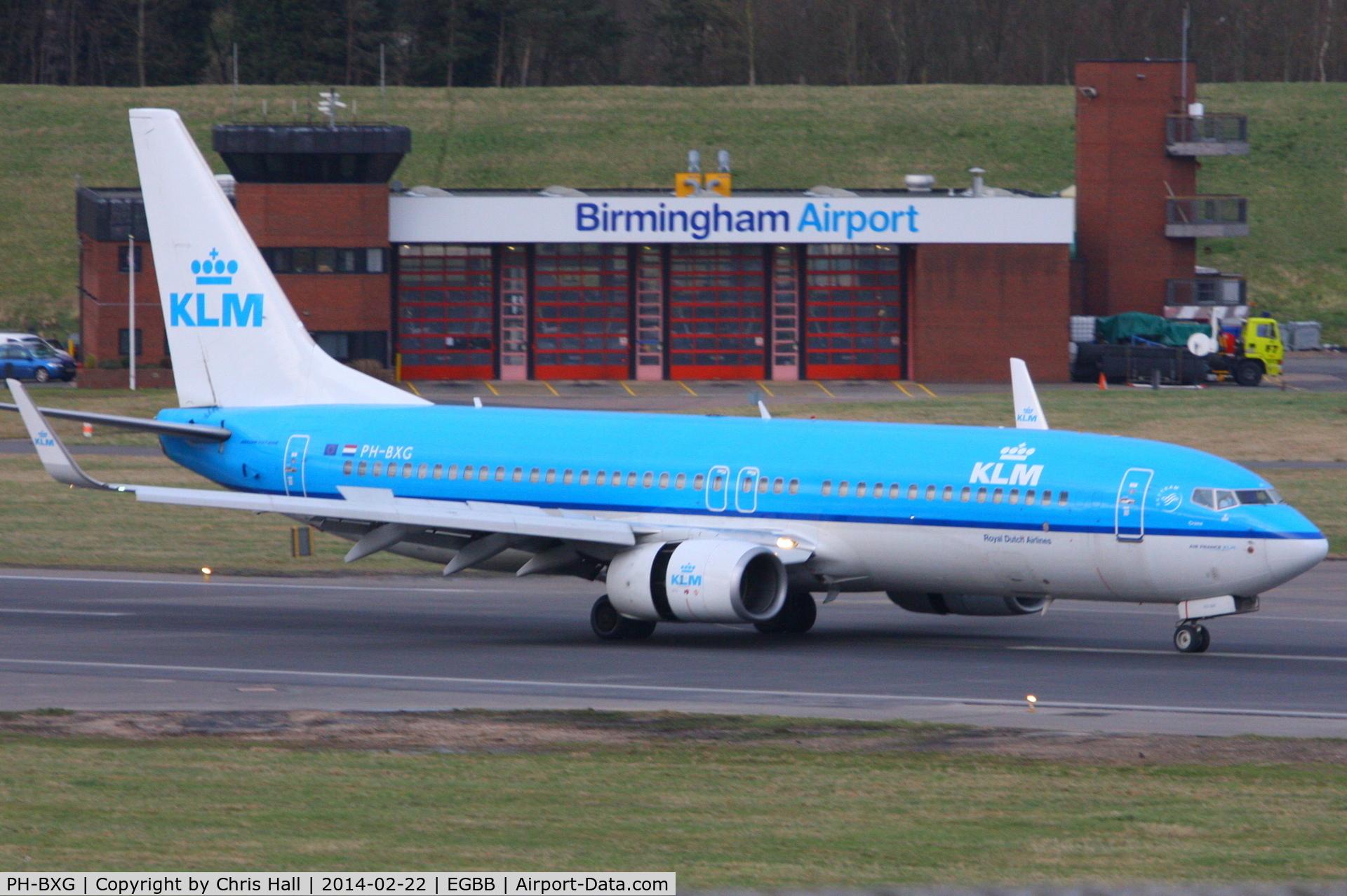 PH-BXG, 2000 Boeing 737-8K2 C/N 30357, KLM Royal Dutch Airlines