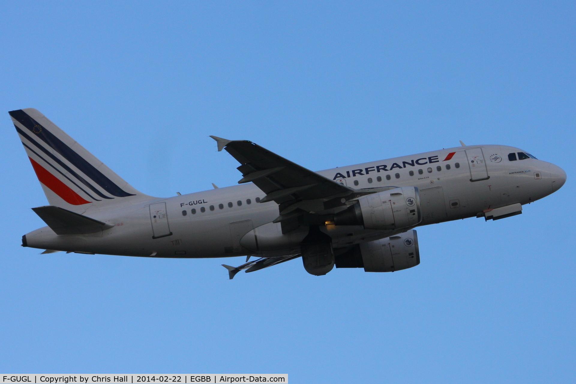 F-GUGL, 2006 Airbus A318-111 C/N 2686, Air France