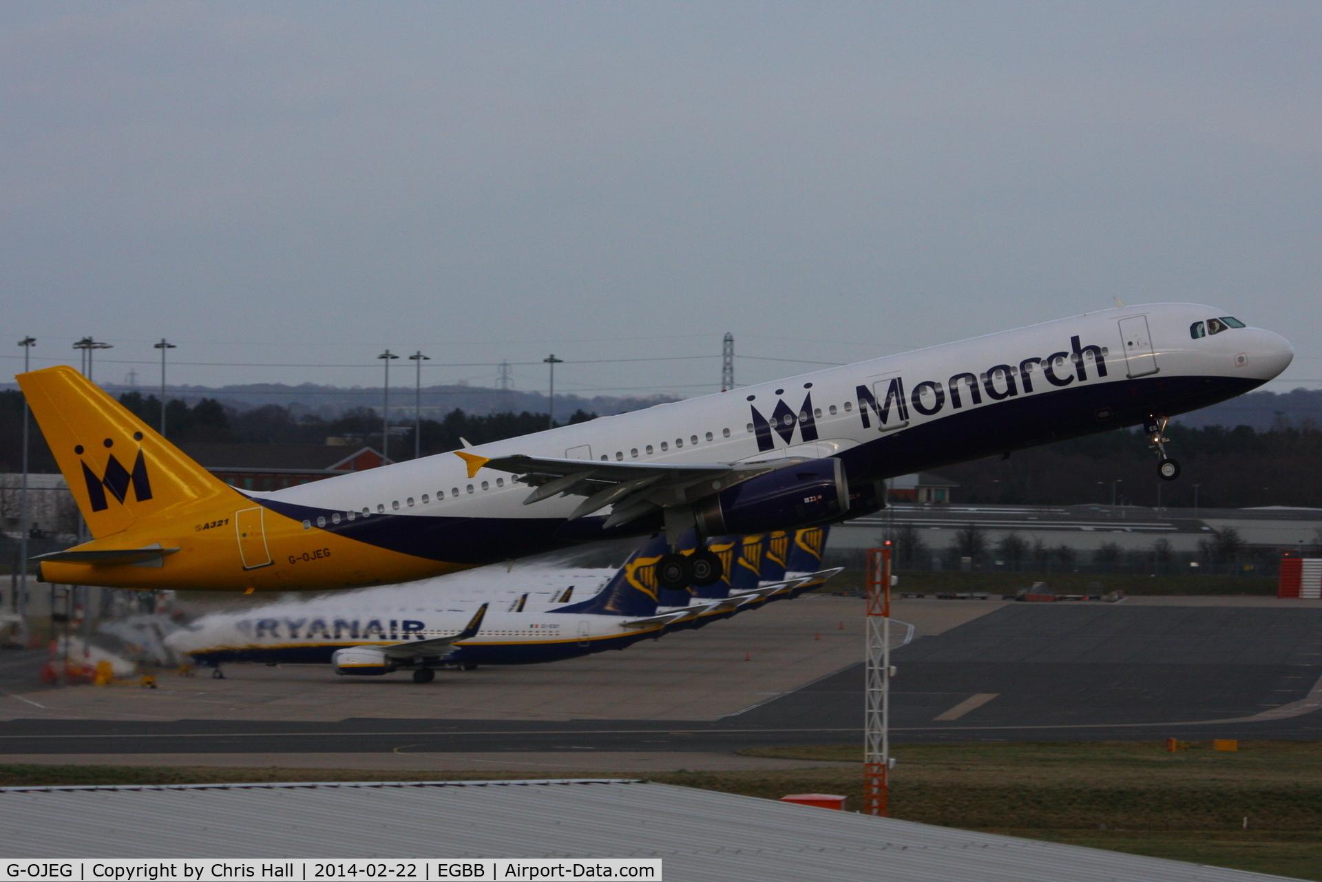 G-OJEG, 1999 Airbus A321-231 C/N 1015, Monarch