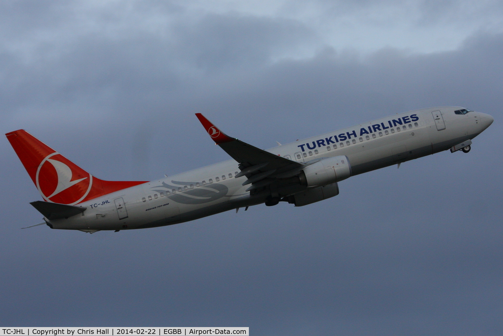 TC-JHL, 2011 Boeing 737-8F2 C/N 40976, Turkish Airlines