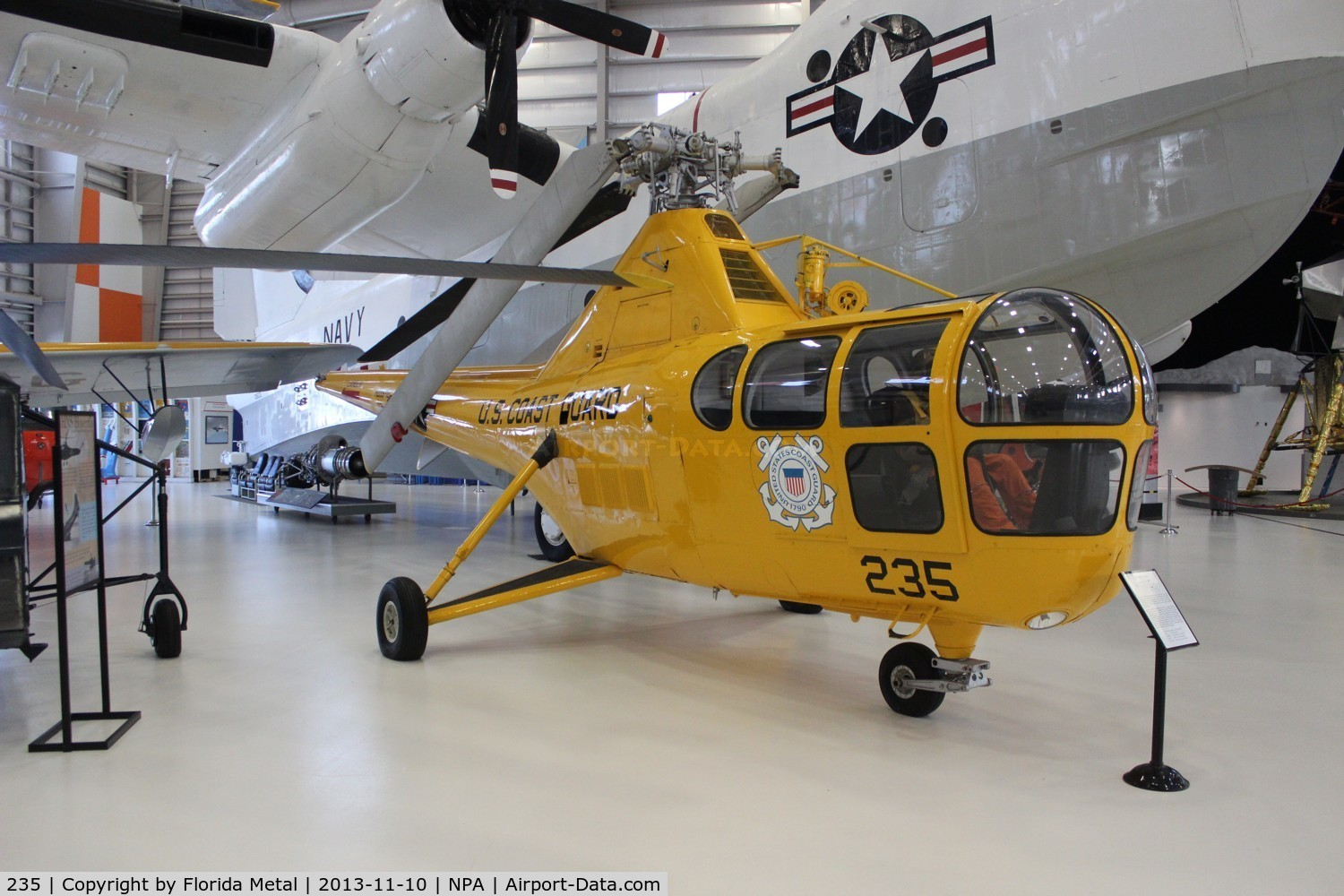 235, 1950 Sikorsky HO3S-1G C/N 51214, H03S-1G at Navy Museum