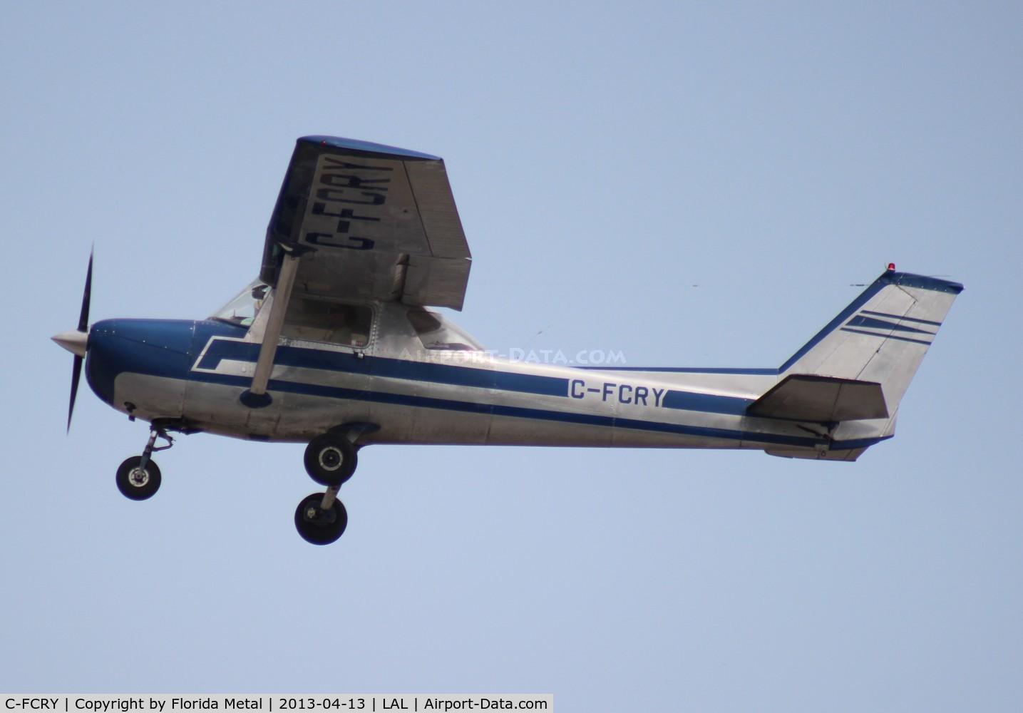 C-FCRY, 1972 Cessna 150L C/N 15074106, Cessna 150L