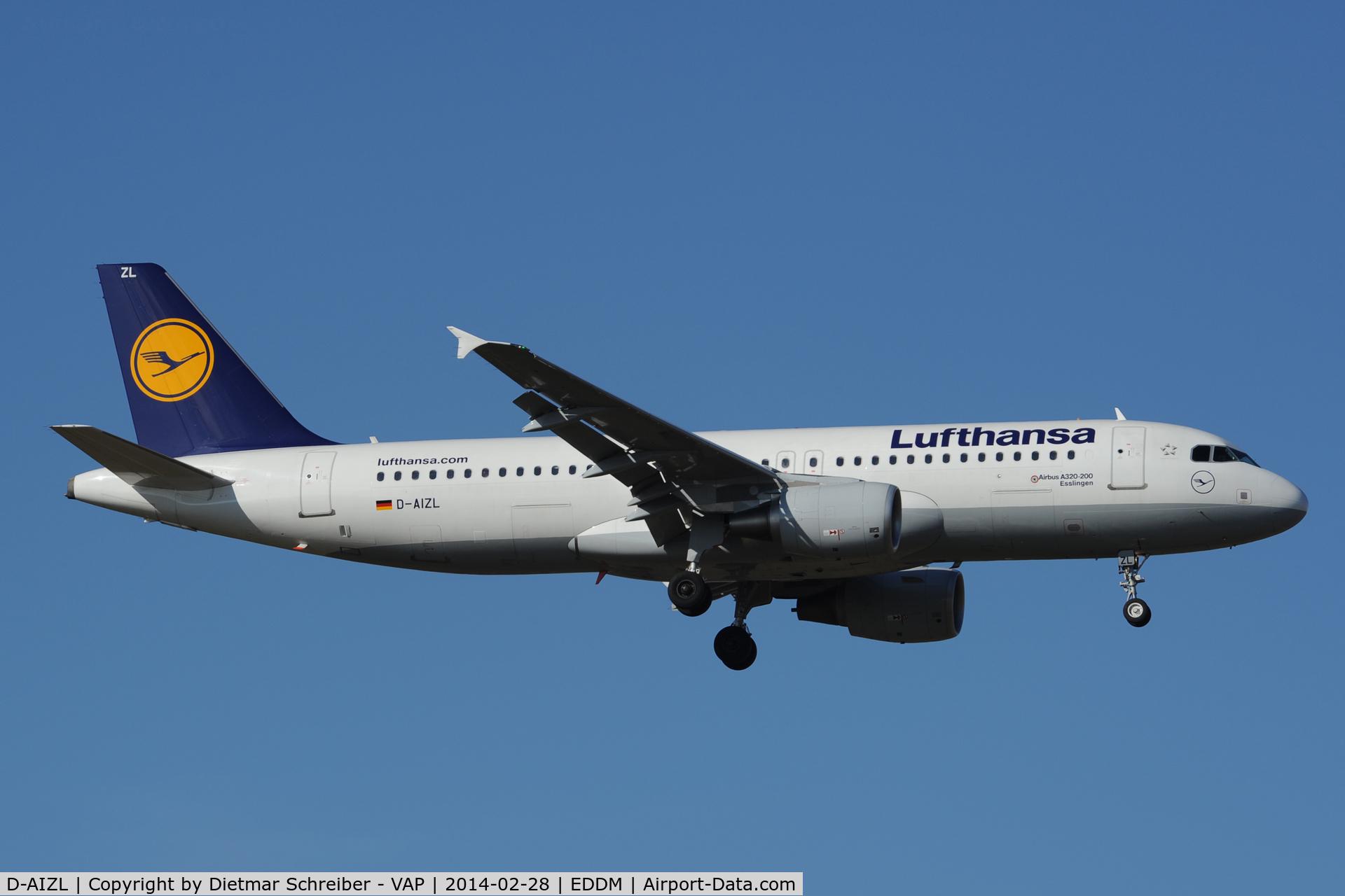 D-AIZL, 2012 Airbus A320-214 C/N 5181, Lufthansa Airbus 320