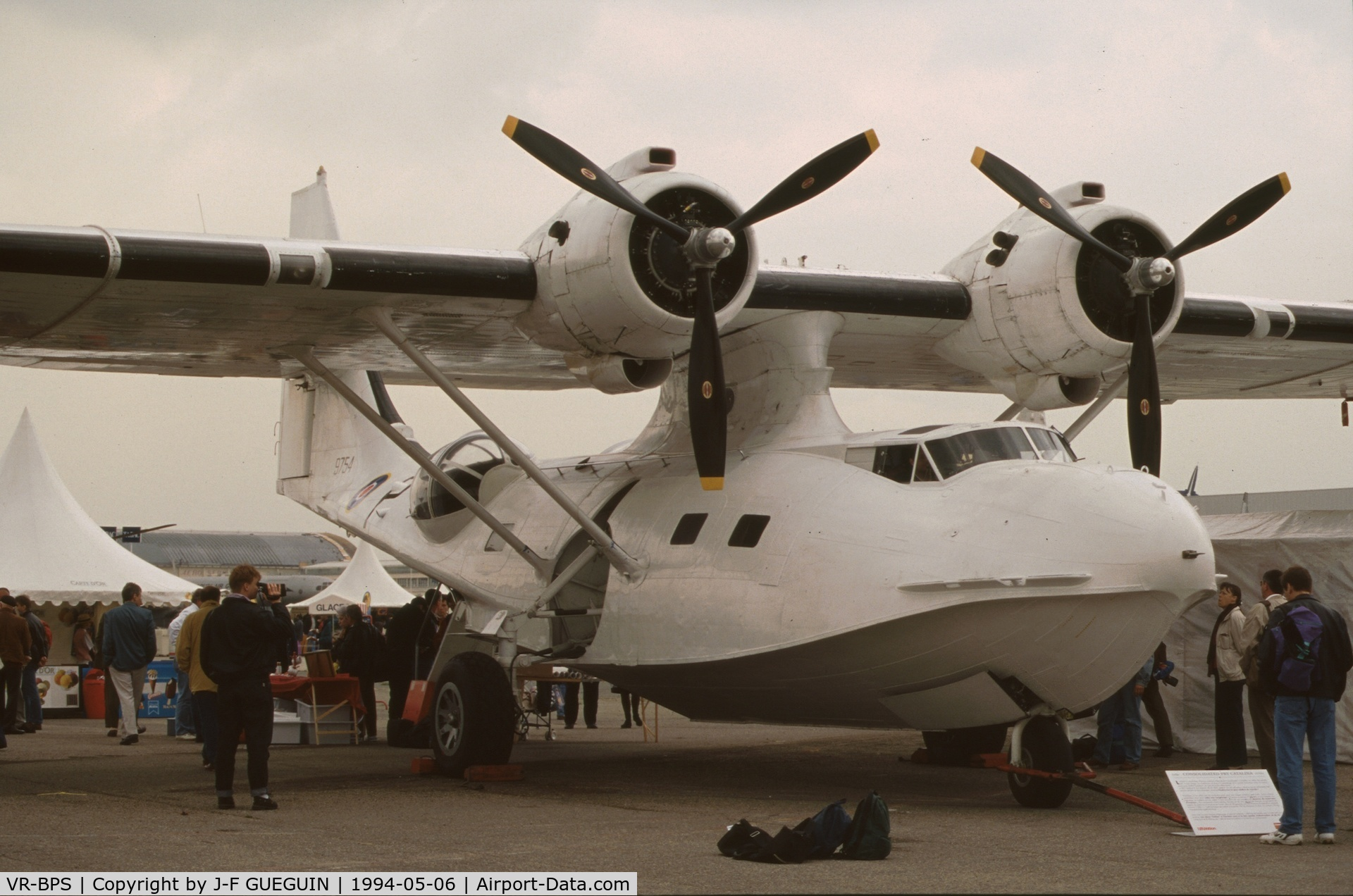 Aircraft vr bps 1944 consolidated pby 5a catalina c n for Salon de l aviation le bourget