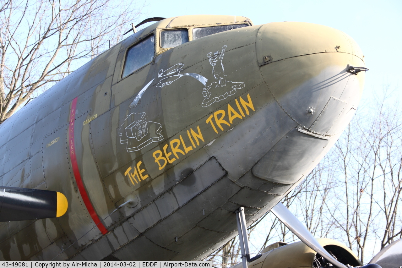 43-49081, 1943 Douglas C-47B Skytrain C/N 14897/26342, USAF United States Air Force