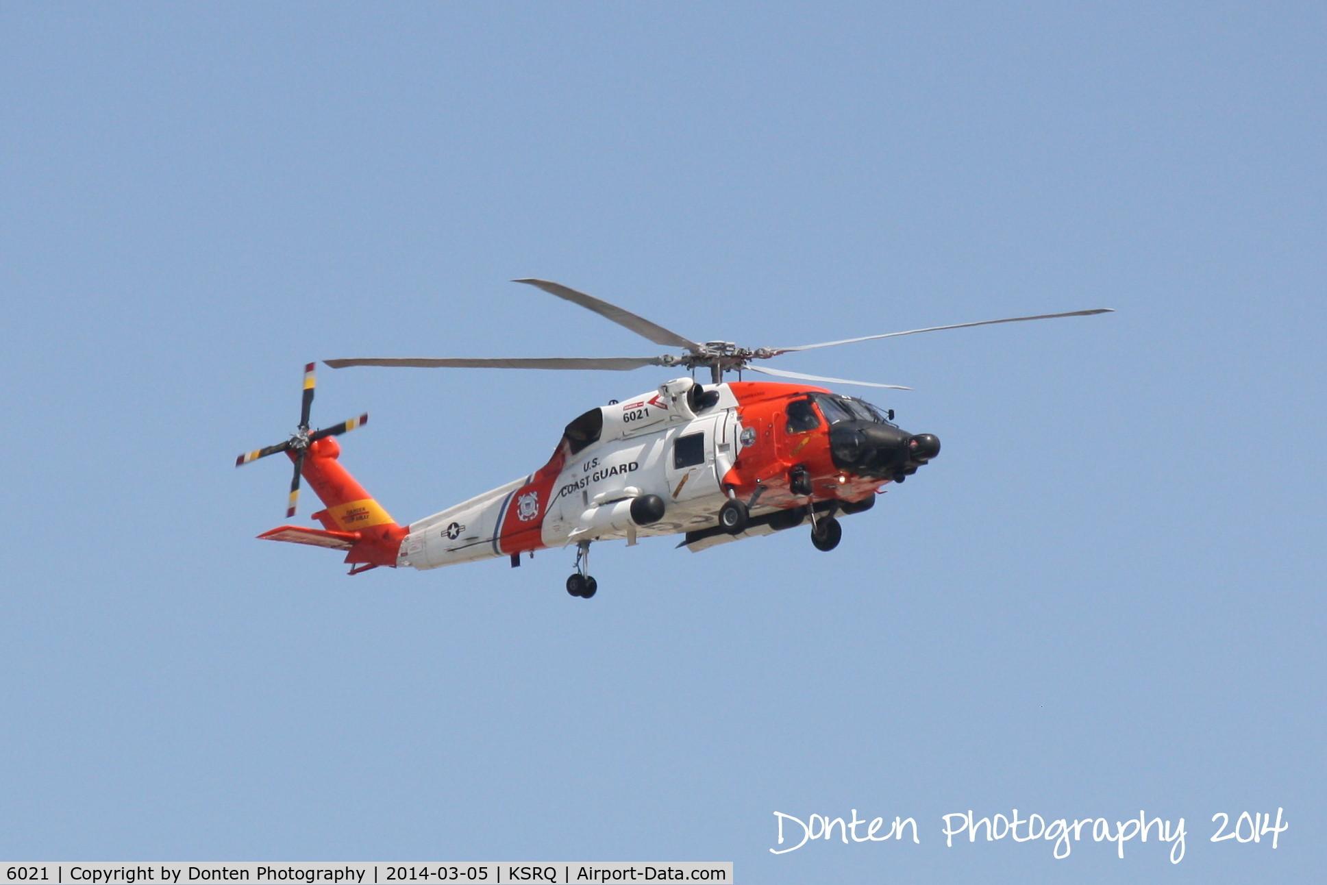 Aircraft 6021 (Sikorsky MH-60J Jayhawk C/N 70 1703) Photo by