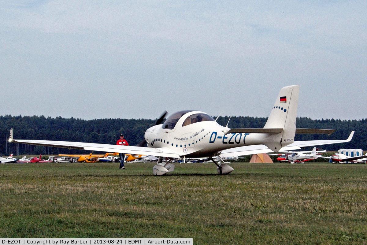 D-EZOT, Aquila A210 (AT01) C/N AT01-228, Aquila A.210 [AT01-228] Tannheim~D 24/08/2013