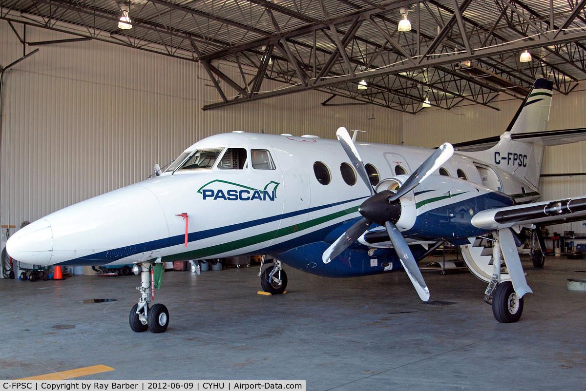 C-FPSC, 1991 British Aerospace BAe-3201 Jetstream C/N 930, BAe Jetstream 3201 [930] (Pascan Aviation) St. Hubert~C 09/06/2012