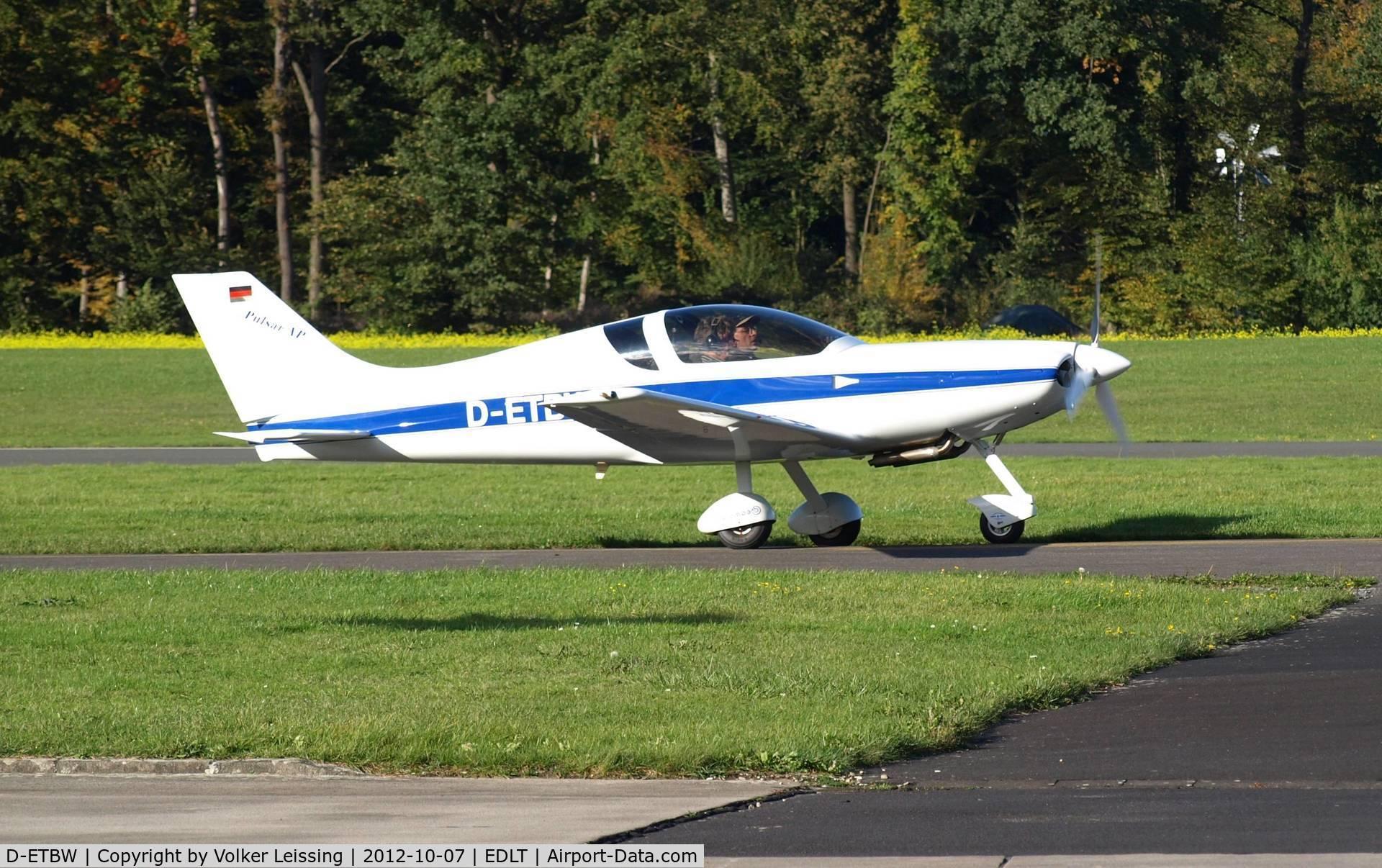 D-ETBW, 1996 Aero Designs Pulsar XP C/N 413, landing