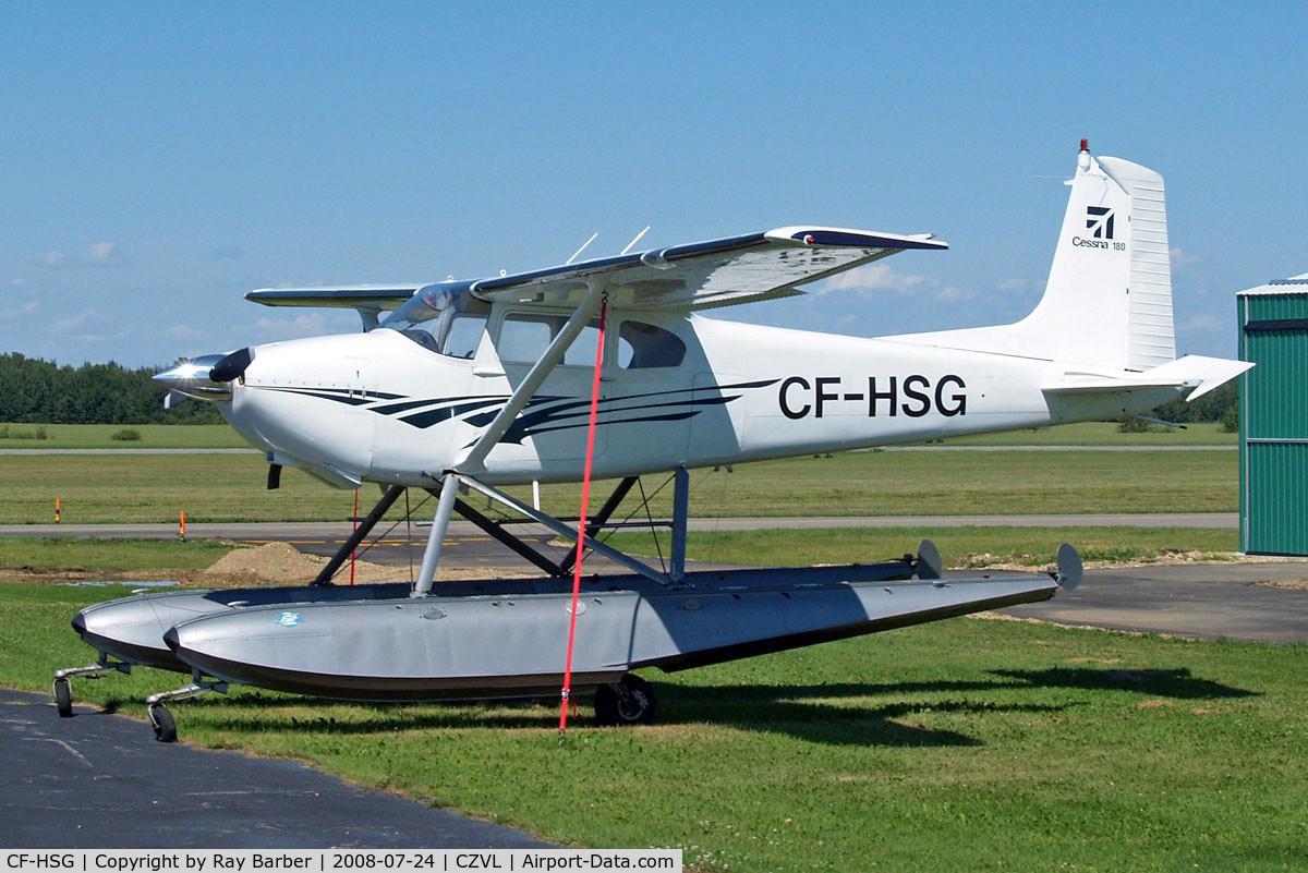 CF-HSG, 1954 Cessna 180 C/N 31048, Cessna 180 [31048] Edmonton-Villeneuve~C 24/07/2008