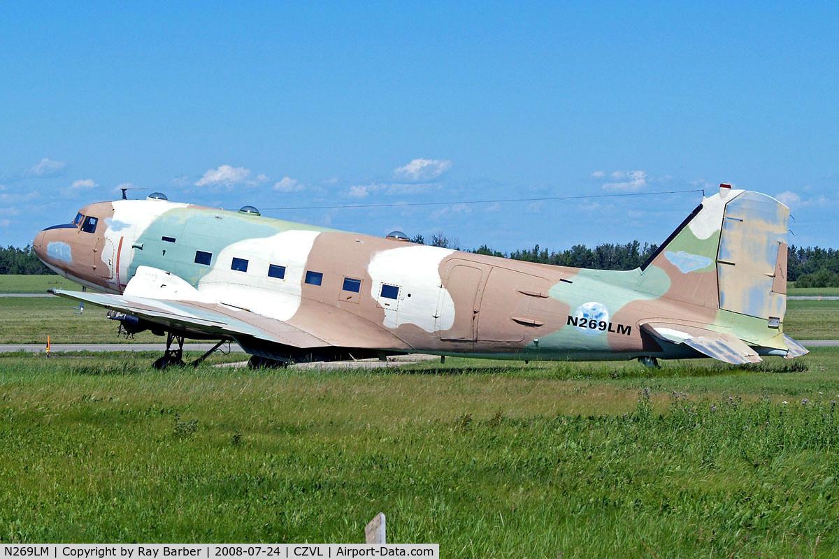 N269LM, 1943 Douglas C-47B Skytrain C/N 14609/26054, Douglas DC-3C-47B-5-DK [14609/26054] (Global Aircraft Industries) Edmonton-Villeneuve~C 24/07/2008