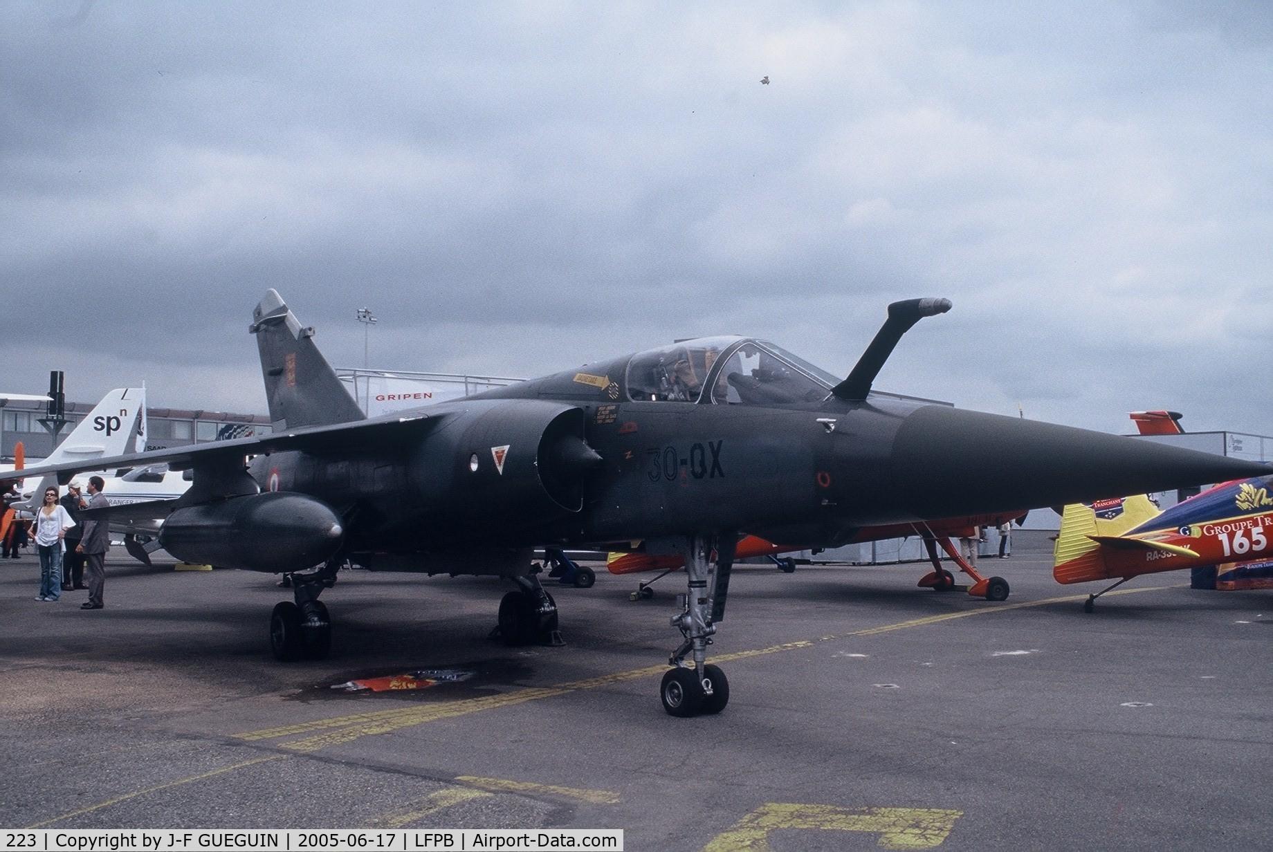 223, Dassault Mirage F.1CT C/N 223, On display at Paris-Le Bourget 2005 airshow.