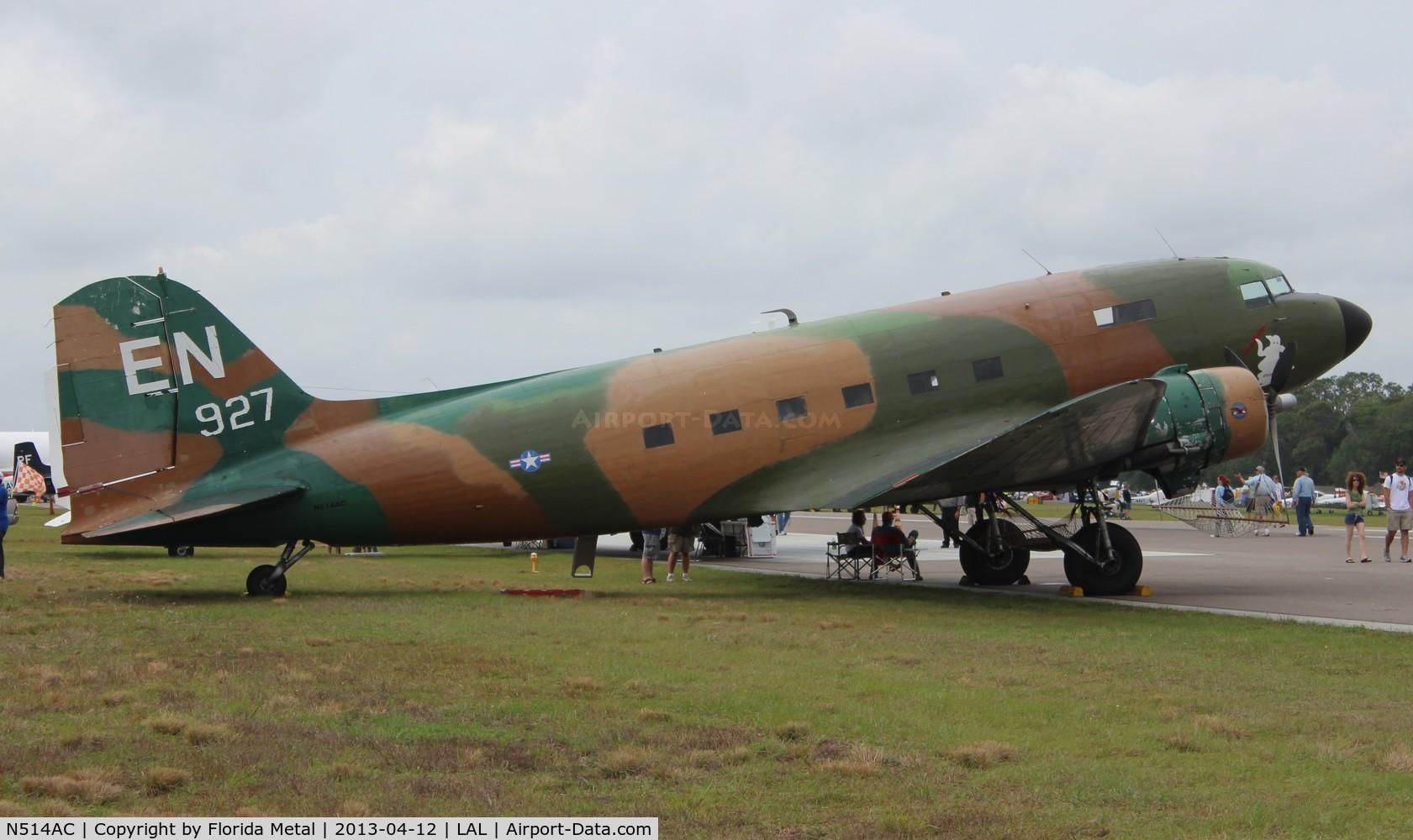 N514AC, 1944 Douglas DC3C 1830-94 C/N 26558, AC-47 Spooky